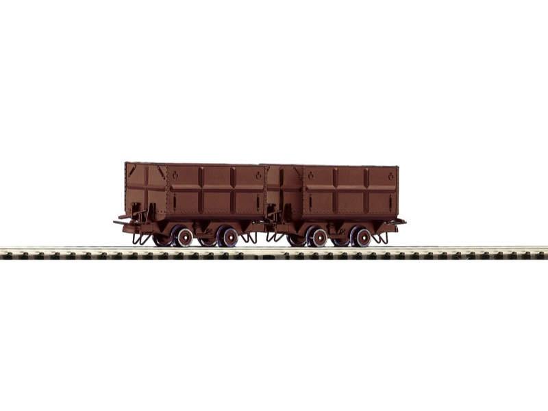 Güterwagen-Set Kohleloren 2-tlg. H0e
