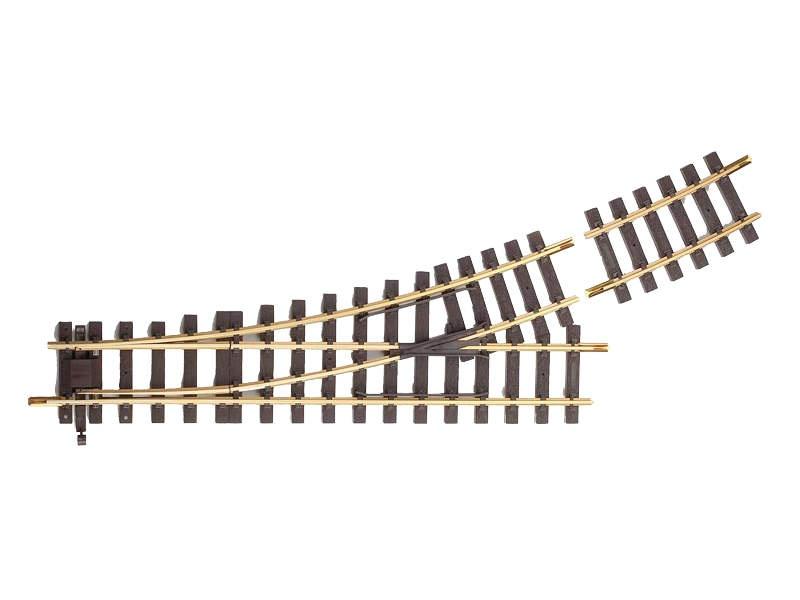 Weiche links, R5 22,5°, Spur G