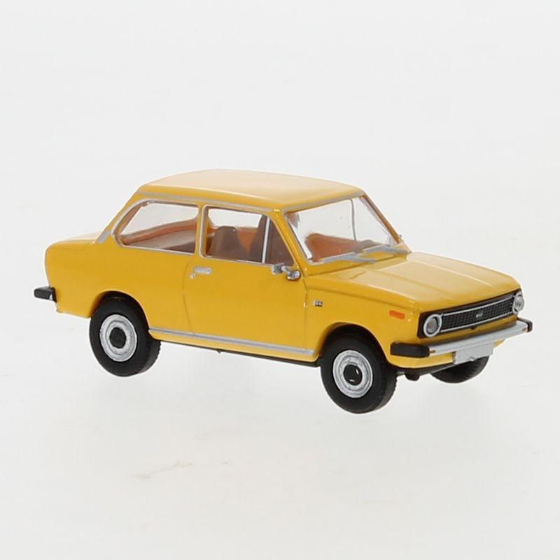 DAF 66, dunkelgelb, 1972, 1:87 / H0