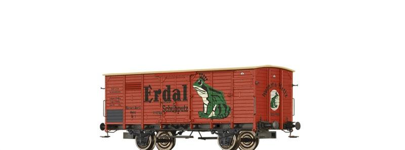 Gedeckter Güterwagen G Erdal, Privat, DC, Spur H0