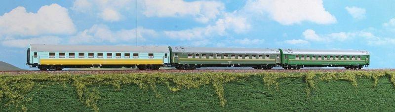 Schlafwagen-Set Ost-West Express der RZD - Set B, Ep.V, H0