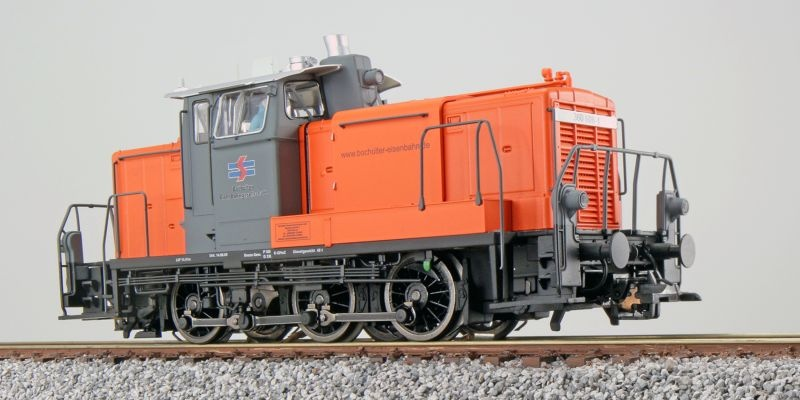 Diesellok BR V60 360 608, Bocholter, Sound+Rauch, DC/AC, H0