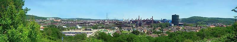 Modellhintergrund Industriegebiet 2700 x 500 mm