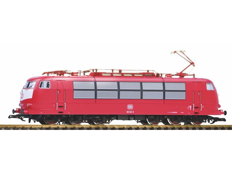E-Lok BR 103 der DB orientrot, Ep. IV, Spur G