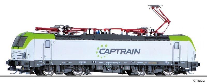 Elektrolokomotive BR 193 der CAPTRAIN / ITL, Spur TT
