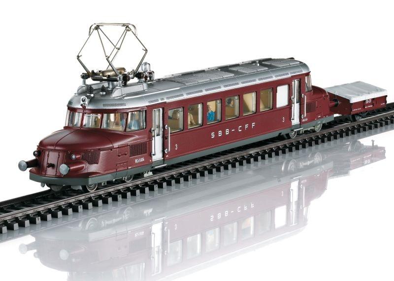 Triebwagen Serie RCe 2/4 Roter Pfeil SBB, Sound, DC, Spur H0