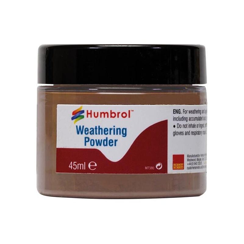 Weathering-Puder, Rost, dunkel, 45 ml