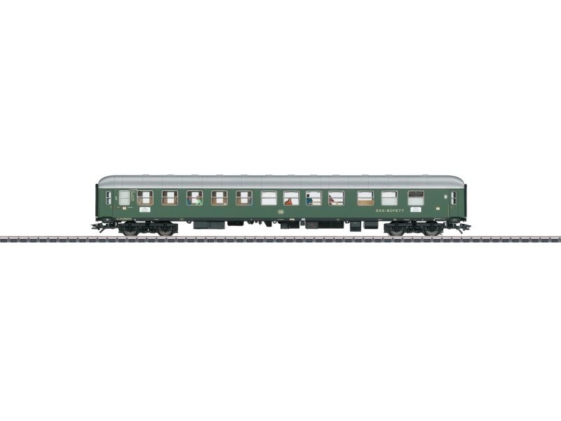 Schnellzug-Halbspeisewagen BRbu4üm 2.Kl., DB, AC, Spur H0