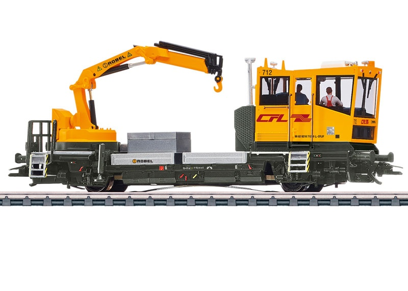 Gleiskraftwagen Robel der CFL, mfx+, Sound, AC, Spur H0