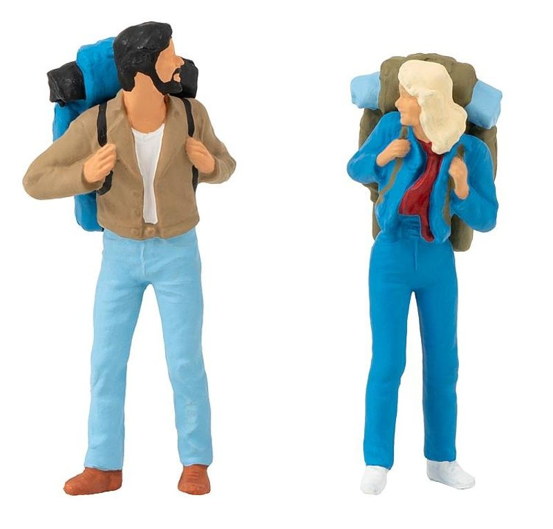 2 Backpacker Figuren, Spur G
