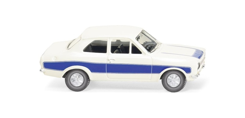 Ford Escort, weiß, 1:87 / H0