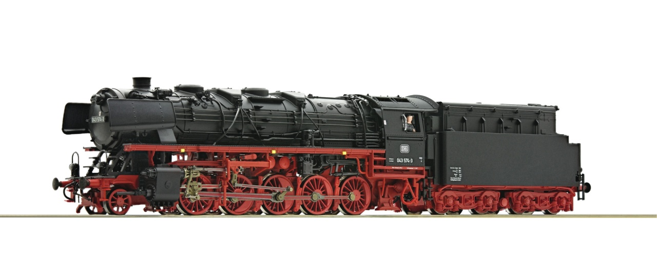 Dampflokomotive BR 043 DB H0 AC