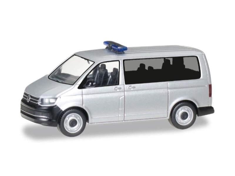 MiniKit: VW T6 Bus, silbermetallic, 1:87 / H0