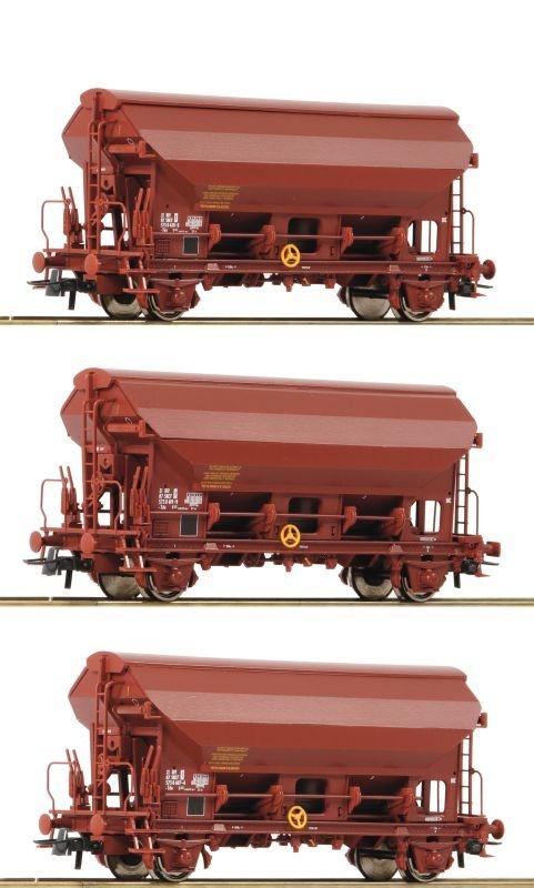 consegna diretta e rapida in fabbrica ROCO 76178 3 pezzi SET TESTA GIREVOLE autoRELLO TETTO della della della SNCF, DC, traccia h0  a prezzi accessibili