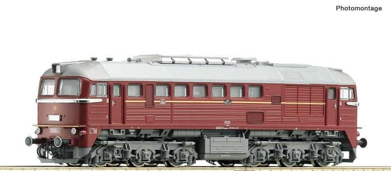 Diesellokomotive Rh T 679 der CSD, Spur TT