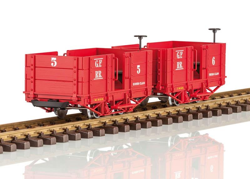 Grizzly Flats Personenwagen-Set Spur G