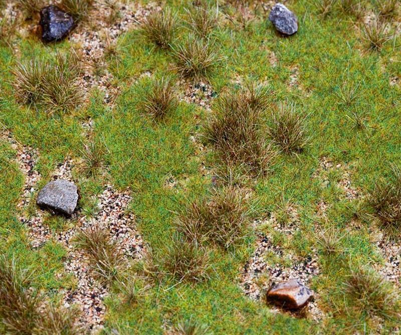 PREMIUM Landschafts-Segment, Wiese mit Findlingen H0, TT, N