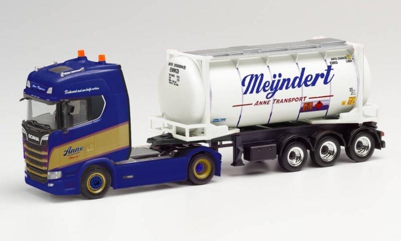 Scania CS 20 HD Swapcontainer-Sattelzug, 1:87 / Spur H0