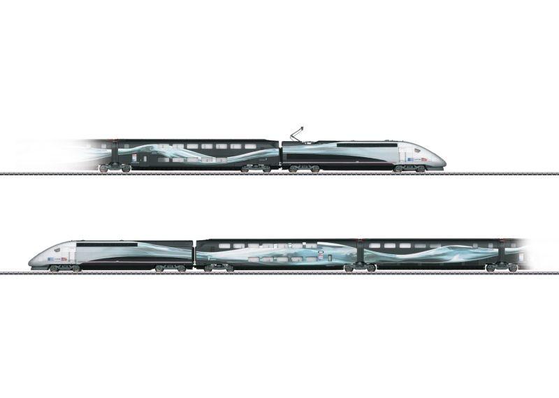 Hochgeschwindigkeitszug TGV Duplex V 150 Weltrekord 2007
