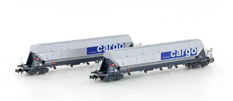 2er Set Silowagen Tagnpps SBB Getreide-Transport, Spur N