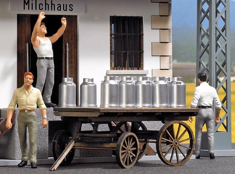 Milchkannen Ladegut (20 Stück), Spur 0