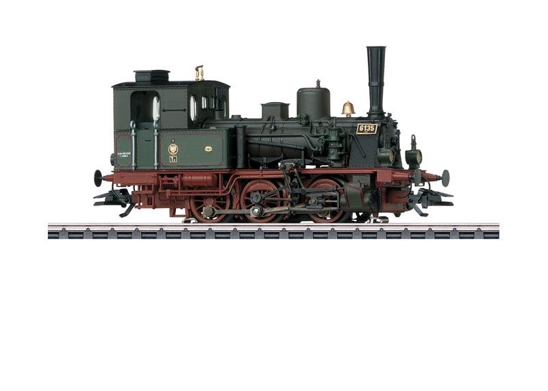 Dampflokomotive T 3 der KPEV, Sound, mfx+, DCC, AC, Spur H0