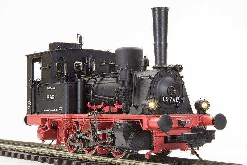 Dampflok BR89 T3 der DB, Epoche III, Spur 0