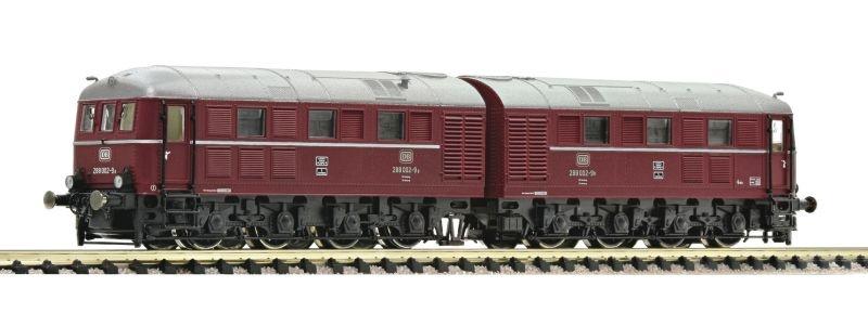 Dieselelektrische Doppellokomotive 288 002-9 der DB, Spur N