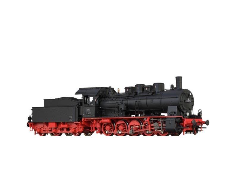 Dampflok BR 57.10 der DB, III, AC BASIC+, Spur H0