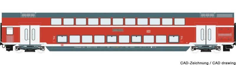 Doppelstockwagen der DB AG, DC, Spur H0