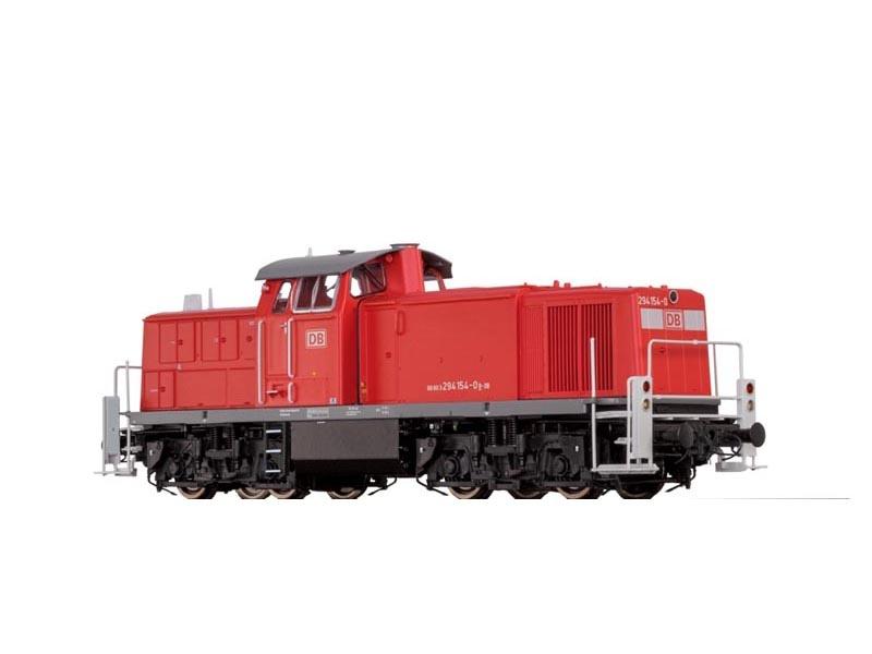 Diesellok BR294 der DB, VI, DC Analog BASIC, Spur H0