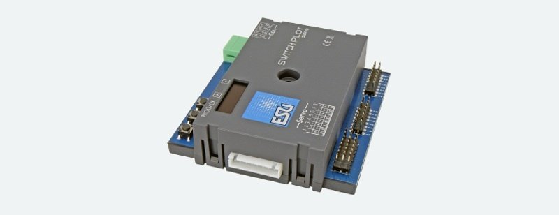 SwitchPilot 3 Servo, 8-fach Servodecoder, DCC/MM, OLED,