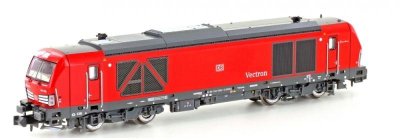 Diesellok Vectron BR247 der DB, rot, Epoche VI, Spur N