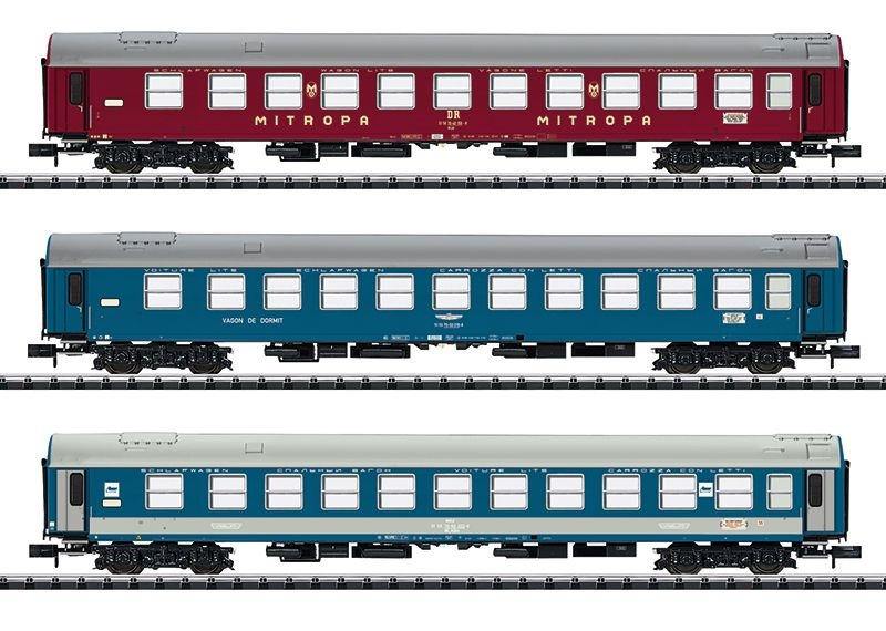 Personenwagen-Set Balt-Orient-Express, 3-tlg.,Ep.IV,Spur N