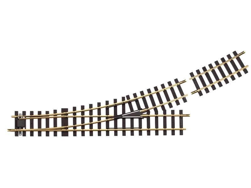 Weiche links, R7  22,5°, Spur G