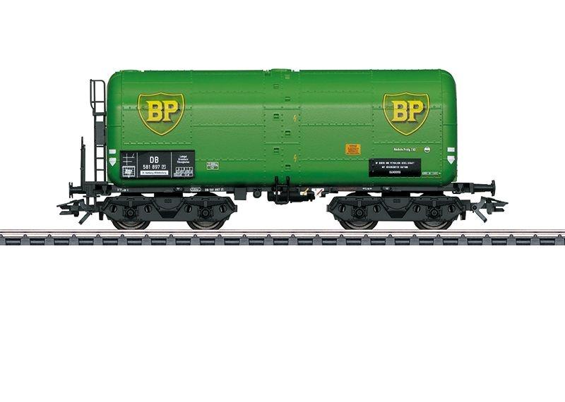 Schweröl-Kesselwagen BP der DB, Epoche III, AC, Spur H0