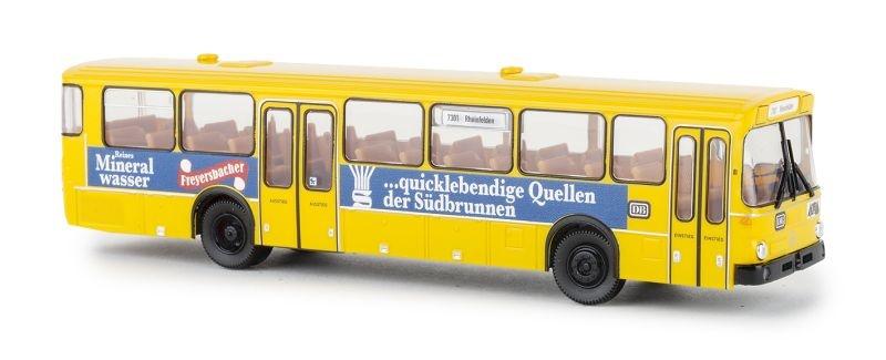MB 0307 Überland- Linienbus, gelb, DB, Freyersbacher, H0