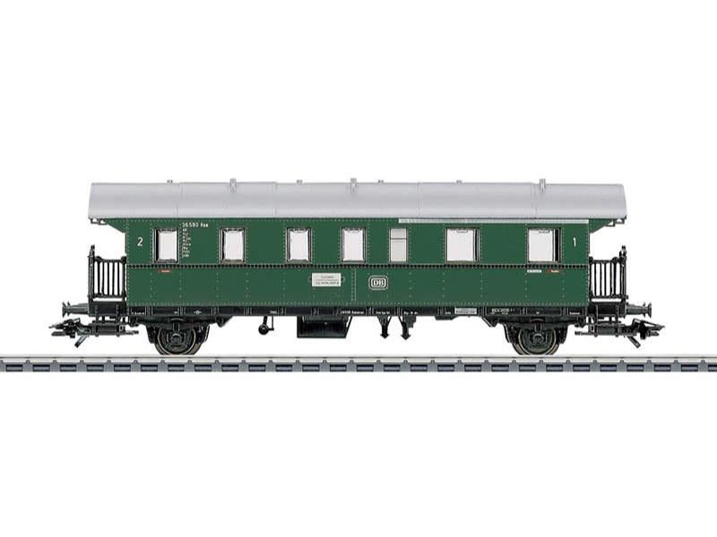 Personenwagen Donnerbüchse 1./2.Klasse DB H0