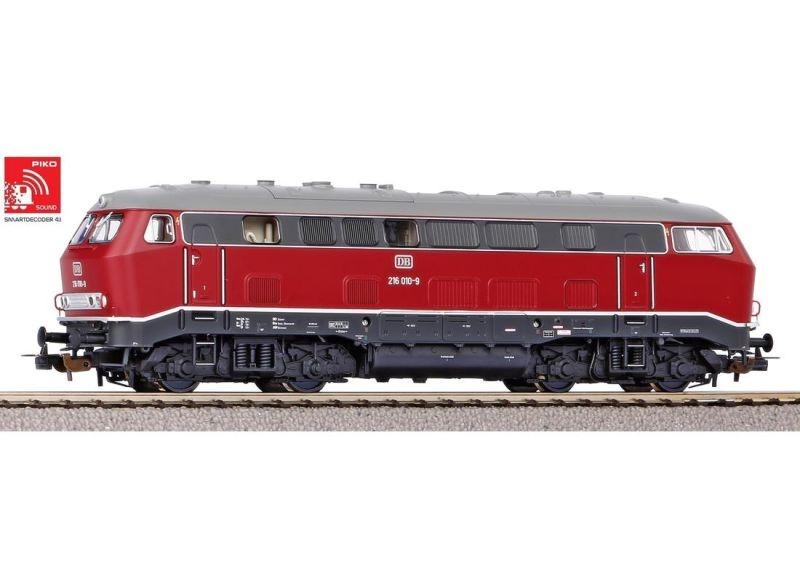 Sound-Diesellok BR 216 der DB, Ep. IV, AC, Spur H0