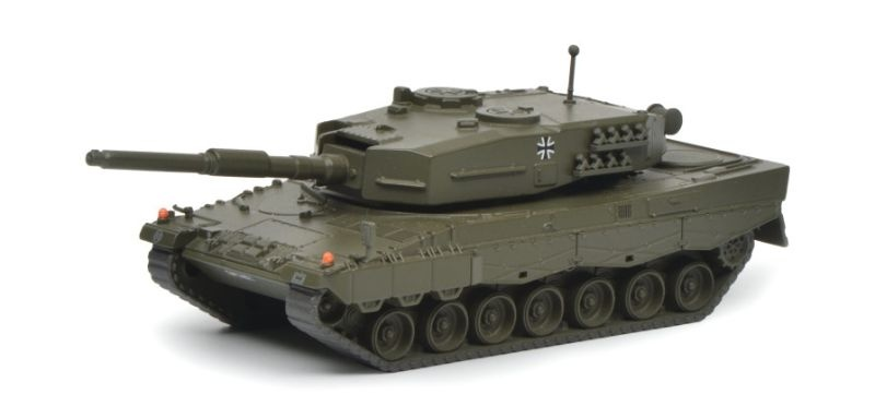 Leopard 2A1 Kampfpanzer Bundeswehr 1:87 / Spur H0