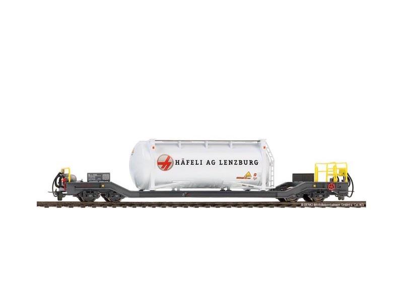 Containerwagen Häfeli Sbk-v 7711 der RhB, Spur H0m