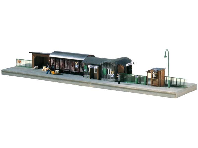 Behelfsbahnstation Bausatz, Spur N