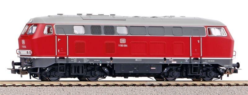 Sound-Diesellok BR V 160 der DB, Ep. III, DC, Spur H0