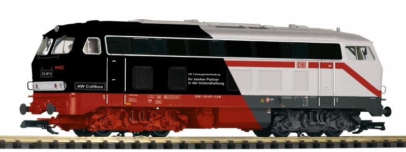 Diesellokomotive 218 497-6 PIKO / Märklin, Ep. IV, Spur G