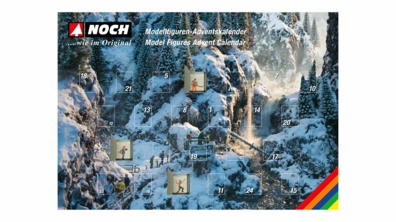 Figuren-Adventskalender 2021 H0, 28 Figuren