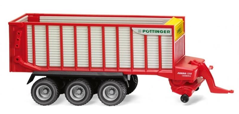 Pöttinger Jumbo Combiline Ladewagen, 1:87, Spur H0
