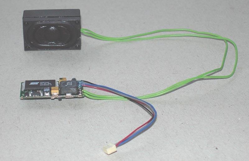 Soundmodul & Lautsprecher für Regioswinger VT612, Spur H0