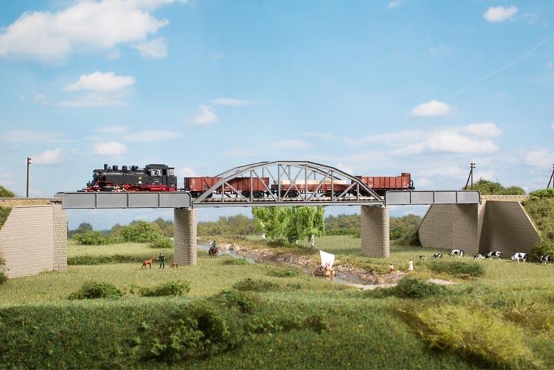 Stahlbrücke, Bausatz, Spur N