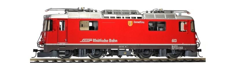 RhB Ge 4/4 II 613 Domat/Ems Universallok, digital, Sound, 0m
