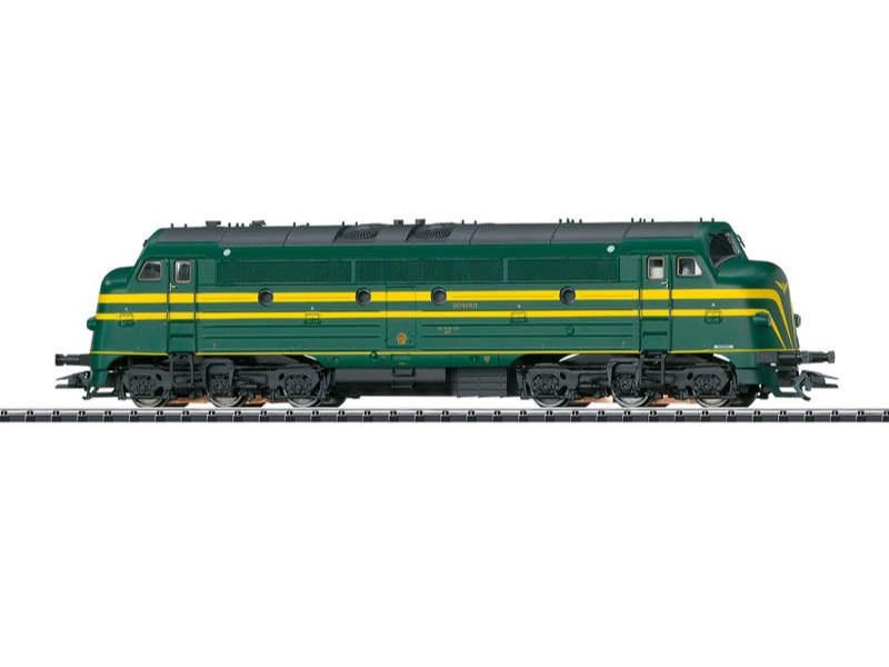 Diesellok NOHAB 204 SNCB/NMBS H0